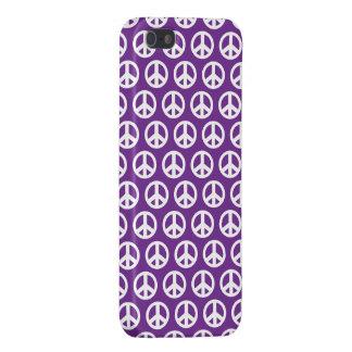 Étuis iPhone 5 iPhone 5 de signe de paix