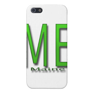 Étuis iPhone 5 JE vert du Maine