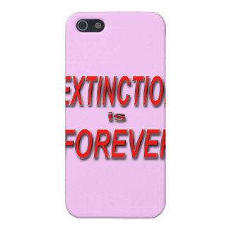 Étuis iPhone 5 L'extinction est Forever