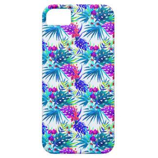 Étuis iPhone 5 Motif de fleur tropical