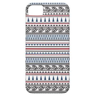 Étuis iPhone 5 Motif en arête de poisson géométrique aztèque