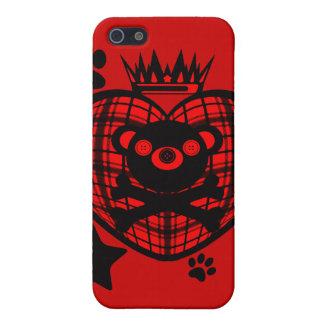 Étuis iPhone 5 Nerf de boeuf (ours)