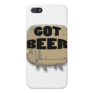 Étuis iPhone 5 Noir obtenu de bière