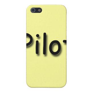 Étuis iPhone 5 Noir pilote