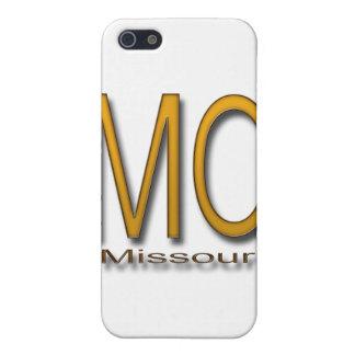 Étuis iPhone 5 Or du Missouri
