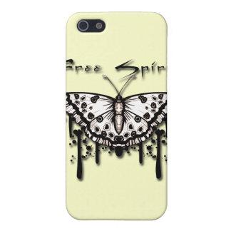 Étuis iPhone 5 Papillon d'esprit libre