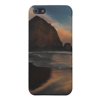 Étuis iPhone 5 Peinture de roche de meule de foin