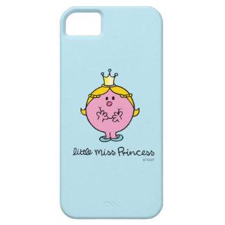 Étuis iPhone 5 Petite Mlle riante nerveusement le princesse
