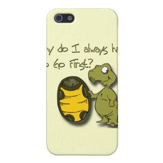 Étuis iPhone 5 Pourquoi je dois aller le premier vert de tortue