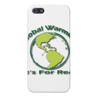 Étuis iPhone 5 Réchauffement climatique son pour le vrai vert