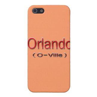 Étuis iPhone 5 Rouge d'Orlando (O-Ville)