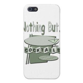 Étuis iPhone 5 Vert noir et blanc de rien mais de cocktails