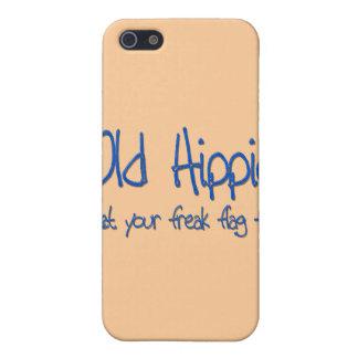 Étuis iPhone 5 Vieux bleu hippie