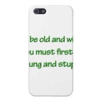 Étuis iPhone 5 Vieux et sage grn