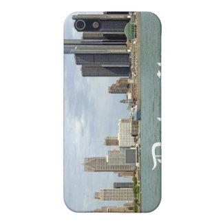 Étuis iPhone 5 Ville Michigan de Detroit