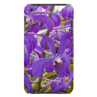 Étuis iPod Touch Floral pourpre