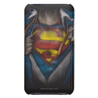 Étuis iPod Touch Le coffre de Superman | indiquent le croquis