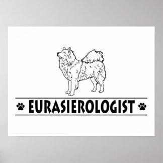 Eurasier humoristique poster
