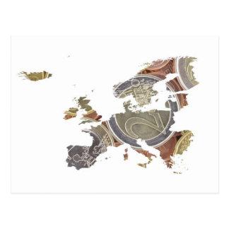 Euro carte de devise