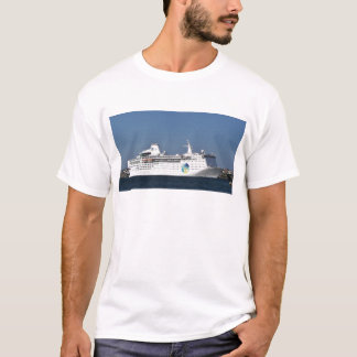 Évasion d'île de revêtement d'océan t-shirt