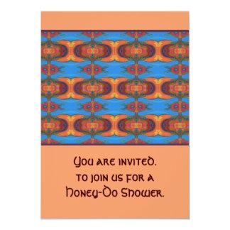 événement de douche d'outil carton d'invitation  12,7 cm x 17,78 cm