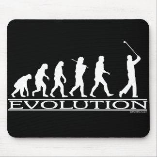 Evolutie - Man - Golf Muismatten