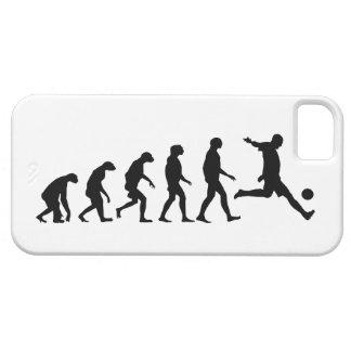 Evolutie van iPhone 5 van het Voetbal Hoesje