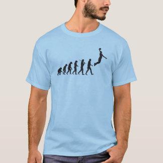 Évolution - basket-ball t-shirt