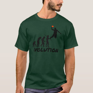 Évolution de basket-ball t-shirt