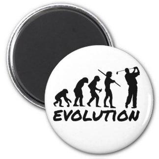 Évolution de golf magnet rond 8 cm