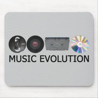 Évolution de musique tapis de souris