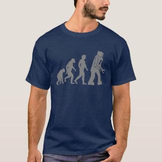 Évolution de robot - nos nouveaux suzerains de t-shirt