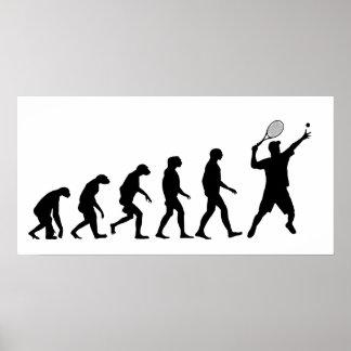 Évolution de tennis