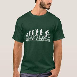 Évolution - faire du vélo de Mt T-shirt