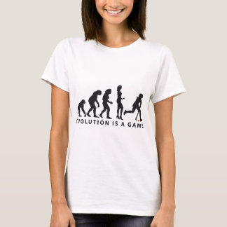 évolution female hockey t-shirt
