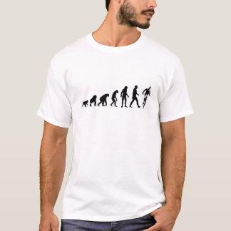 Évolution humaine : Mâle de coureur T-shirt
