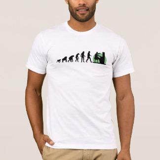 Évolution humaine : Pianiste T-shirt