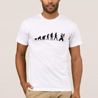 Évolution humaine : Violoniste moderne T-shirt