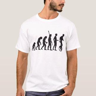évolution unicycle t-shirt