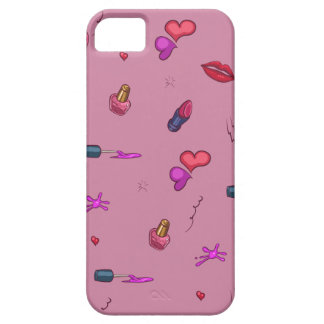 Expert en logiciel girly rose d'iPhone de motif + Étui iPhone 5