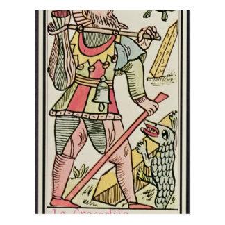 Expiation, carte de tarot, française