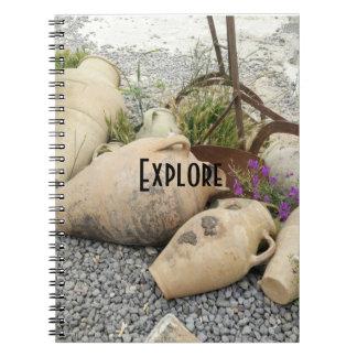 Explorez le carnet de vases à argile