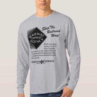 Express de chemin de fer - embarquez le T-shirts
