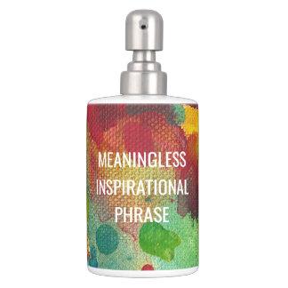 Expression inspirée sans signification set de salle de bain