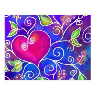 Expressions de l'amour 2 cartes postales