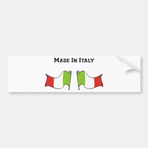 Fabriqué en Italie Autocollants Pour Voiture