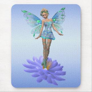Fae bleu. mousepad tapis de souris
