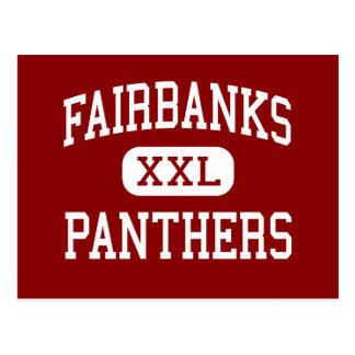 Fairbanks - panthères - milieu - centre de Milford Carte Postale