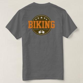 """faire du vélo """"soutenu pour pédaler"""", cool t-shirt"""