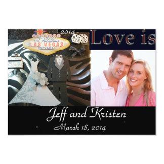 Faire-part de mariage 2014 de Las Vegas